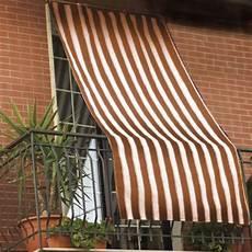 tessuto per tende da sole tenda da sole per esterno in tessuto a righe con anelli cm