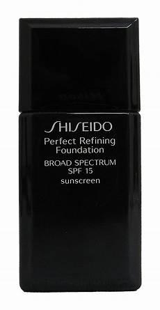 shiseido refining foundation spf 15 i20