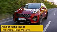 kia sportage 2019 test daten preis motoren adac