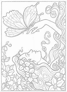 coloring pages of fairies for adults 16630 fairies to paint or color coloring book dover publications coloring pages coloring