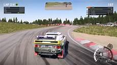 dirt 4 ford rs200 evolution rallycross gameplay pc hd