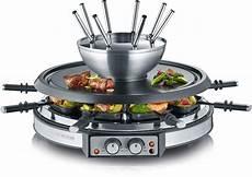 severin raclette und fondue set rg 2348 1900 w otto