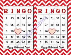 s day bingo printable free 20509 60 happy valentines day bingo cards by okprintables on zibbet