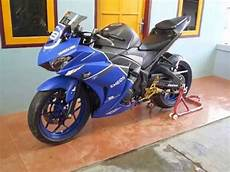 Modifikasi Motor R25 by Yzf R25 Inspirasi Modifikasi Motor Yamaha Ala Sport Racing