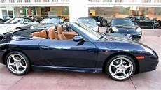 2003 porsche 911 cabriolet 996 midnight blue brown