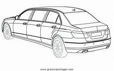 Auto Malvorlagen Mercedes Mercedes Limousine Gratis Malvorlage In Autos2