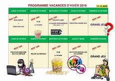 programme tv 11 fevrier 2018 avara association vall 233 e aux renards animation centre