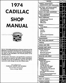 1939 cadillac wiring diagram 1974 cadillac repair shop manual original