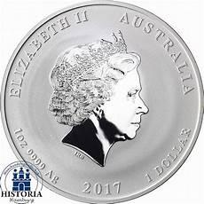 australien silberm 252 nze jahr des hahn 1 dollar 2017 lunar
