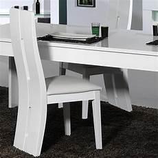 Chaise Blanche Design Salle A Manger Id 233 Es De D 233 Coration
