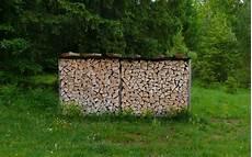 Holzstapel Am Haus - landschaft bilder ferienwohnung alpenwelt