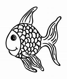 Malvorlage Fisch Mit Schuppen Stempel Fisch Fridolin 65 X 55 Mm
