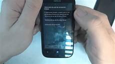 nokia lumia 510 how to reset como restablecer datos de fabrica youtube