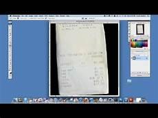 how to darken a faded receipt in photoshop using adobe