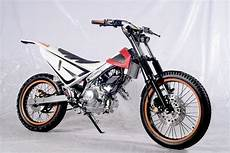 Modifikasi Motor Sonic 150r by Modifikasi Motor Trail Honda Sonic 150r Trail Bike Tanpa