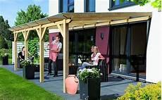 Bausatz Terrassenüberdachung Holz - terrassendach holz terrassen 252 berdachung bausatz