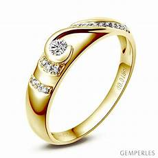 bague alliance femme alliance femme solitaire diamants bague moderne or jaune