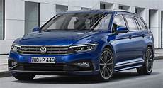 Europe S 2020 Vw Passat Facelift Debuts With Updated