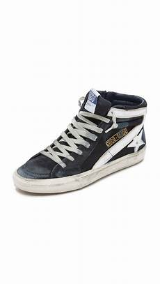 lyst golden goose deluxe brand slide high top sneakers