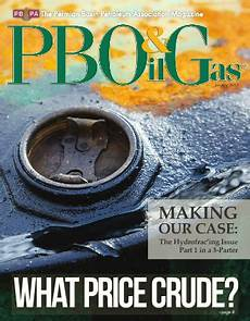 previous issues of pbog magazine