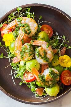 mexican style shrimp avocado salad green healthy cooking