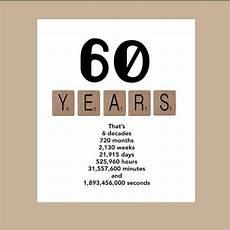 Geburtstagskarte 60 Basteln - 60th birthday card milestone birthday card the big 60
