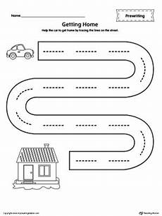 street line tracing prewriting worksheet myteachingstation com