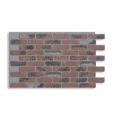 28 quot faux brick panel red light grout