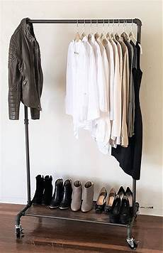 clothes rack real real home modern industrial style garment rack
