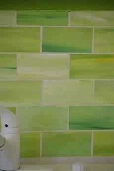 faux glass tile backsplash crafty faux glass tile backsplash