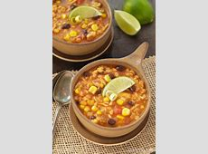 southwest chicken   barley soup_image