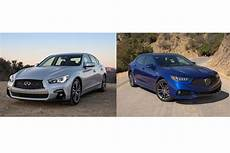 acura tlx a spec earns re spect over infiniti q50 news