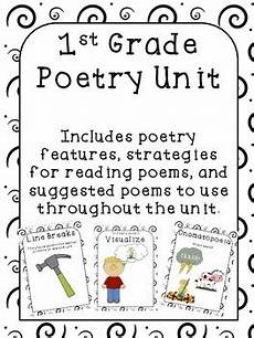 poetry worksheets year 1 25381 poetry unit 1st grade by techie mostly tired tpt