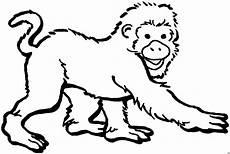 Malvorlagen Tiere Affen Ausmalbilder Affe Ausmalbilder