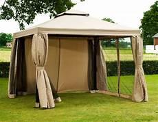 luxus pavillon 3x4 meter natur