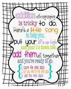 here s a poem on addition with regrouping math songs