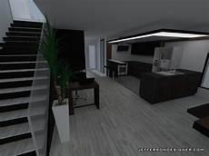 duplexe converti en maison moderne design interieur