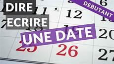 Comment Dire Une Date En Anglais 224 L 233 Crit Et 224 L