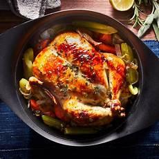 basic whole roast chicken recipe eatingwell
