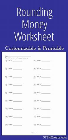 free printable rounding money worksheets 8108 128 best images about math stem resources on money worksheets printable