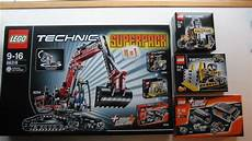 m4x s creations unboxing lego technic 4 in 1 superpack