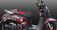Scoopy Modif Stiker by Modif Honda Scoopy Stiker Expreme Oto Trendz