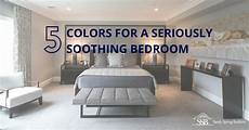 top 5 colors for a seriously soothing bedroom
