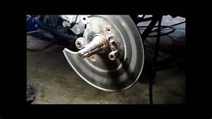 Honda Rear Wheel Bearing Part 1wmv  YouTube