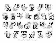 and easy to print abc coloring pages for preschoolers