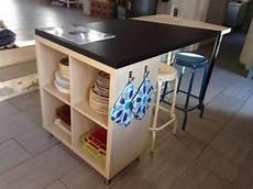 Fabriquer Un Bar Pas Cher Transformer Une 233 Tag 232 Re Ikea En Un 238 Lot De Cuisine 20