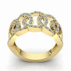 3carat cut diamond womens fancy interlinked wedding