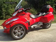 Can Am Trike Motorcycle 2012 can am spyder rt se5 trike 3 wheeler