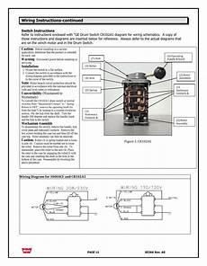 aci drum switch wiring wiring diagram wiring instructions continued warn 3000 aci user manual page 11 144