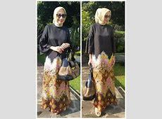 Abaya jumputan palembang By Sekar Satari   Pakaian wanita